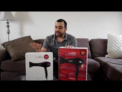 HSI Dryonizer Lite Lightweight VS HSI Professional Hair Dryer D-2200