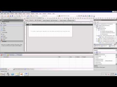 AX2009 SSRS 36 Creating the Simplest Precision Design SSRS Report