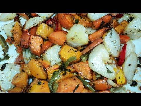 PERFECT ROAST VEGETABLES