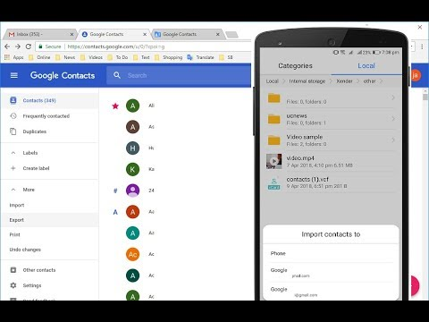 How to Backup All Contacts in PC & Restore to Phone (Wireless-Easy)