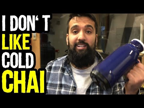 I Don't Like COLD CHAI | Thermos Experiment | Azad Chaiwala Show