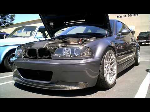 2002 BMW M3 (E46) w/ CF front lip, trunk lid,roof ,Intake Manifold Cover and 20 inch OEM BMW Rims