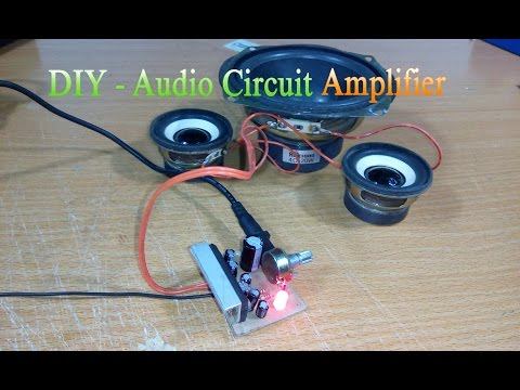 How to make Circuit amplifier Simple, Use IC LA4440