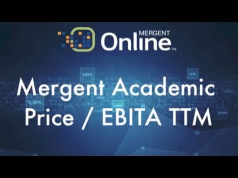 Valuation Measures - Price / EBITDA TTM