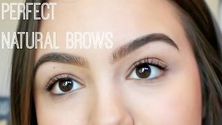 How To Fill Natural Eyebrows