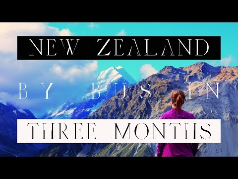 New Zealand by bus in three months