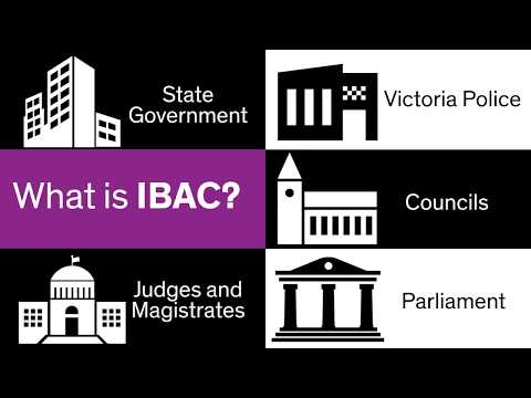 IBAC and public sector corruption