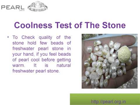 5 steps to check Whether A Pearl Stone Is Real Or Fake