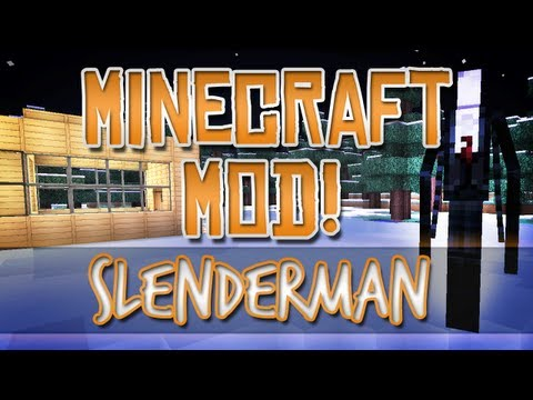 Minecraft Mod! - Slenderman