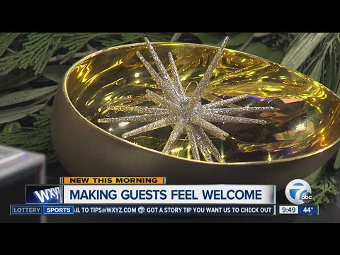Making guests feel welcome during the holidays