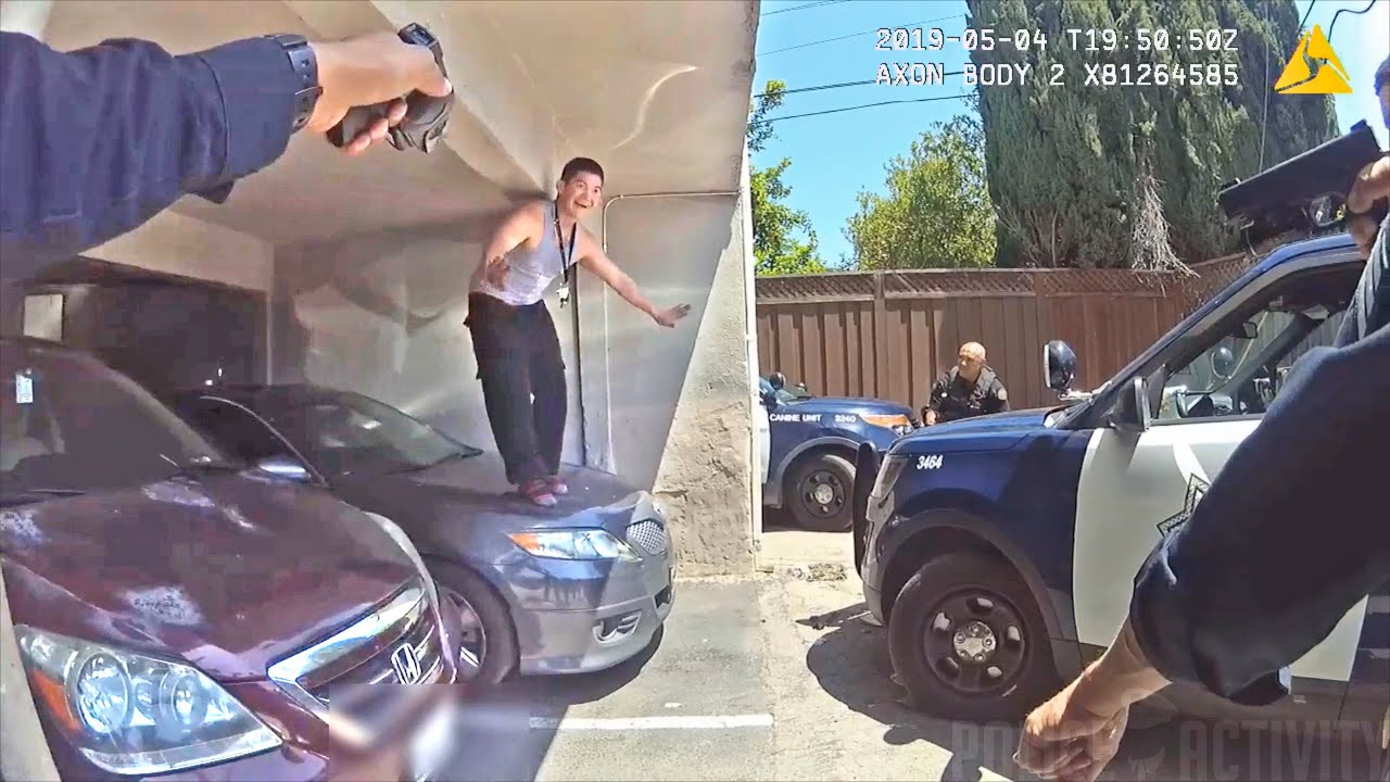 Bodycam Shows Police Shooting Man After Driving Stolen Car into Officer