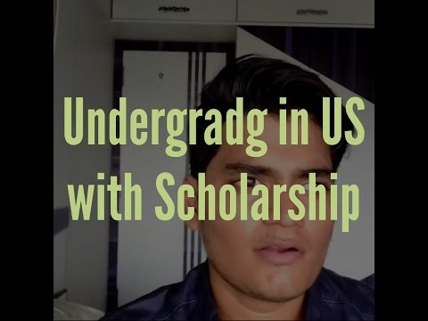 Undergrad in US with scholarship for International Students (Intro)