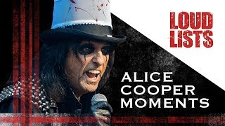 10 Unforgettable Alice Cooper Moments
