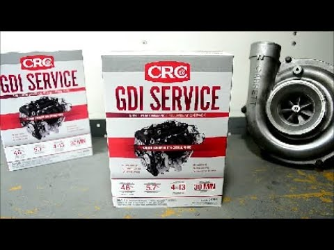 CRC GDI Service Kit || Clean Carbon Build Up On Intake Valves, Turbo, Injectors, Cylinder Head, TB