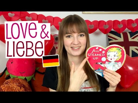 'I love you' in German and pet names!