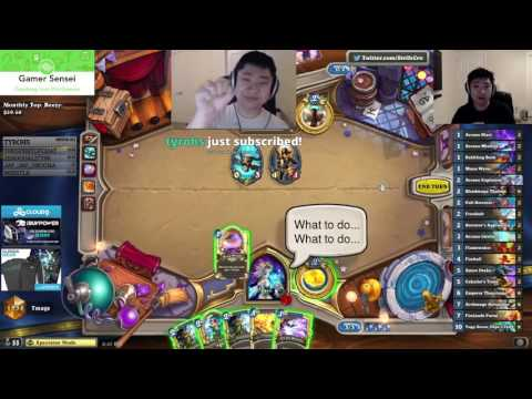 Cloud9's StrifeCro Coaching Tempo Mage - Hearthstone Coaching - FULL LENGTH