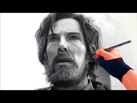 Hobo Dr Strange Portrait Drawing - Pre Sorcerer Supreme Art Drawing Video