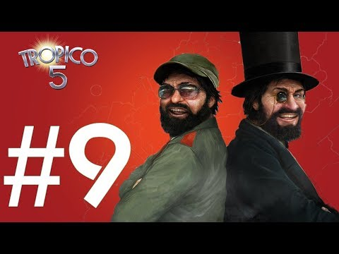 Unemployment Rate in Tropico 5 (Ep #9 - Tropico 5 Sandbox Gameplay)