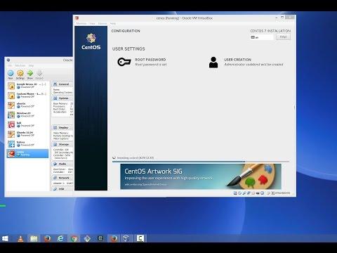 How to Install CentOS 7 on VirtualBox in Windows 8 / Windows 10