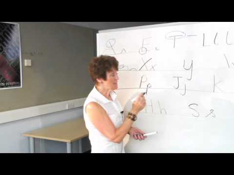 Shorthand Sue Teaches Teeline #2 - letters