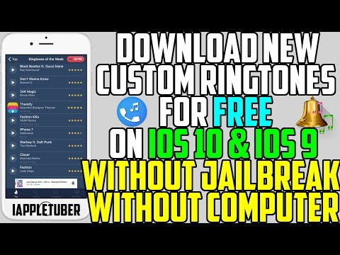 How to Download Custom Ringtones on your iPhone FREE!! (No Computer No Jailbreak) iOS 10 - 10.2 / 9