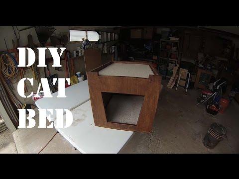DIY Cat Bed For Under $20 Dollars