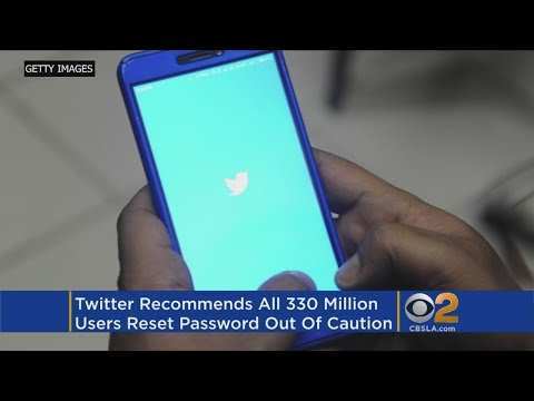 Twitter Recommends All 330 Million+ Users Change Passwords