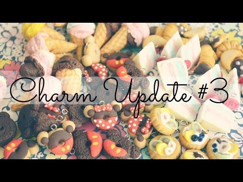 CHARM UPDATE #3 Ice Cream, Mickey & Minnie Donuts, Fruit Tarts
