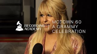 """Meghan Trainor On Covering """"You Can't Hurry Love""""   Motown 60: A GRAMMY Celebration"""