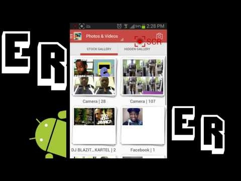 How to] Hide Pictures Videos from Your Gallery On Android (Samsung Galaxy S3)   Must Have App
