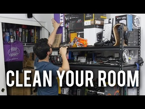EXTREME Room Cleaning Timelapse - RIVETING!