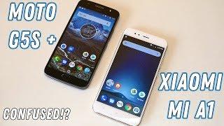 Moto G5s Plus vs Xiaomi Mi A1 - Comprehensive comparison with Camera!