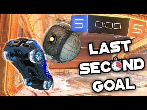 LAST SECOND WINNING GOAL! | Rocket League
