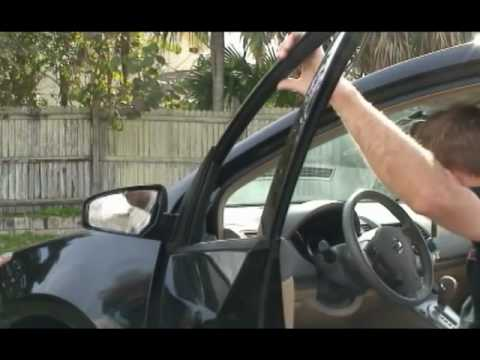 Nissan Sentra Side View Mirror Assembly How To Replace A Broken Mirror Glass 2007-2012