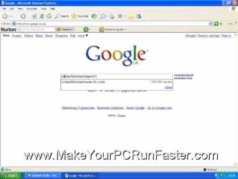How To Find Available Domain Names INSTANTLY! As You Type in Fact!