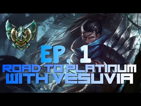 Road to Platinum Montage Episode 1 /w Vesuvia! - Yasuo, Lee Sin, Twitch, Zed