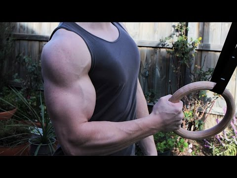 Build Bigger Stronger Biceps with Bodyweight