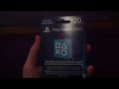 how to use psn card (playstation network card)