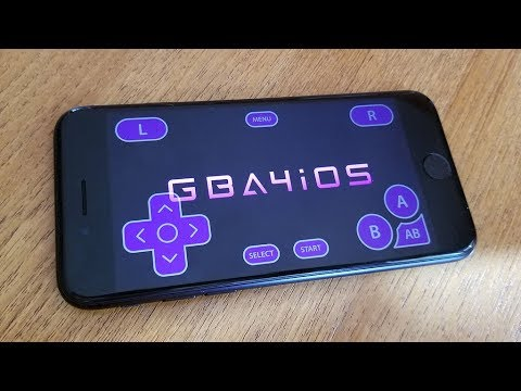 New Gameboy Advance GBA Emulator IOS 11 FREE (NO Jailbreak -Iphone 8/8 Plus/7/7Plus