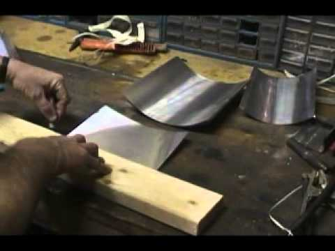 How to ... Cut and bend Step Flashing for roofing
