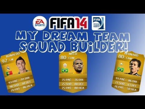 FIFA 14 ULTIMATE TEAM - MY DREAM TEAM! - FUTHEAD!