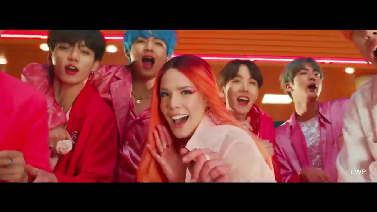BTS  (Boy With Luv) feat. Halsey'  MV Extended Version