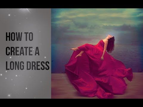 How to Create a Long Dress