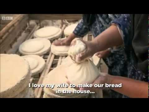 Egyptian wood fired bread