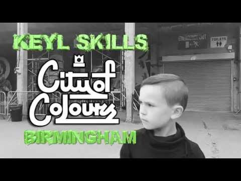 Keyl Skills | City Of Colours Birmingham | Street Art, Break Dancers & Skills!