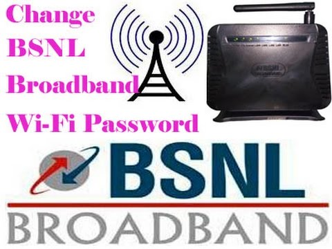 How to Change BSNL Broadband WiFi Password