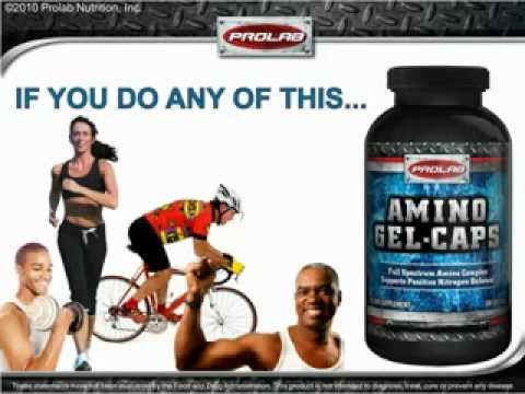 AMINO POWER! Prolab Amino Gelcaps