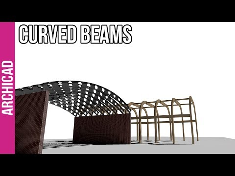 How to create anything in ArchiCAD: Curved Beams
