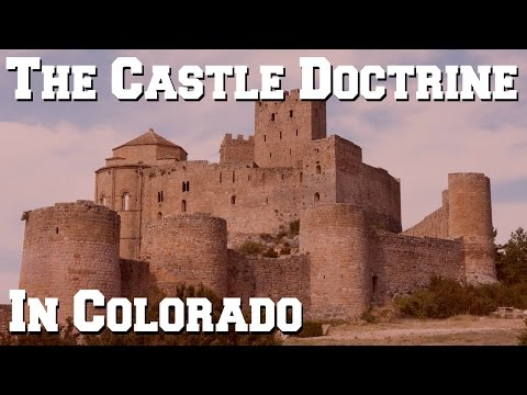 What is the Castle Doctrine (Make My Day Law) in Colorado?
