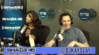 Jah Kidd interview with Dj Kayslay at Shade45